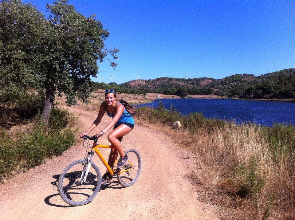 Surfcamp in Algarve Bike tour