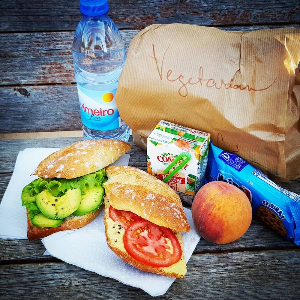 Surfcamp in Algarve lunch pack