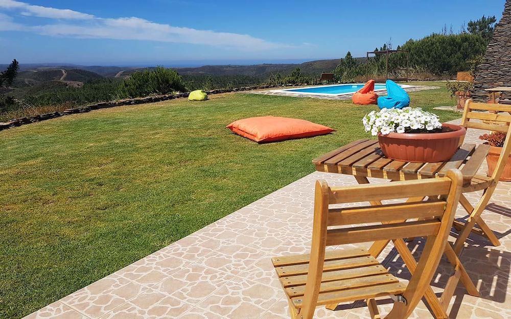 Surfcamp in Algarve dine private table