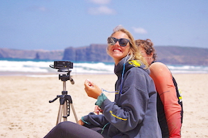 Surfcamp in Algarve video video analytics