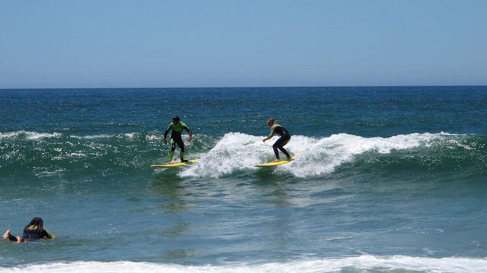 Surfcamp in Algarve Intermediate Surf Lesson