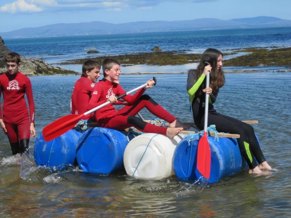 Ireland Kids Summer Surf Camp Fun Activity