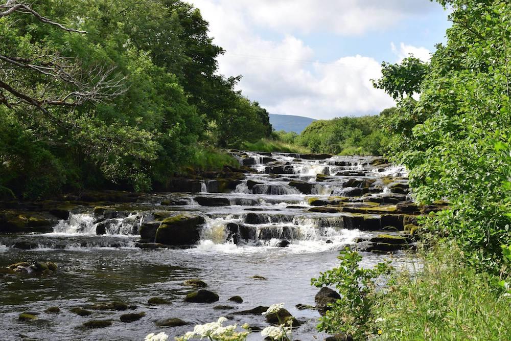 Ireland Kids Summer Surf Camp Waterfall