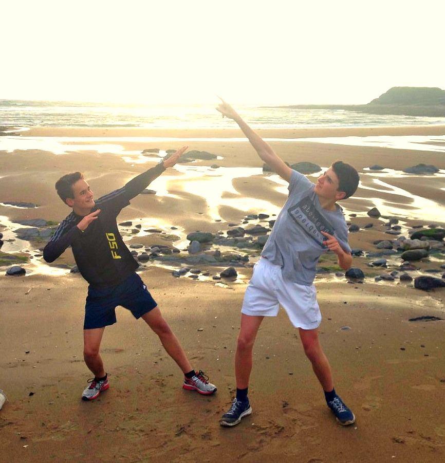 Ireland Kids Summer Surf Camp Sunset Walk