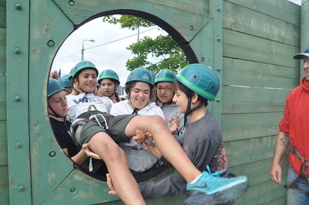 Ireland Kids Summer Surf Camp Cooperation games