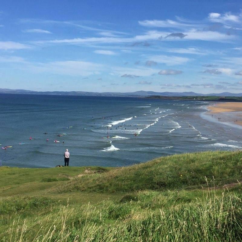 Ireland Kids Summer Surf Camp Ireland landscape