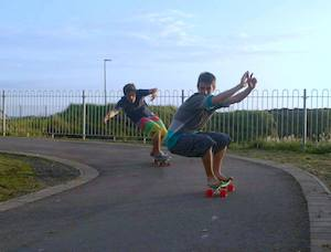 Ireland Kids Summer Surf Camp Skate Session