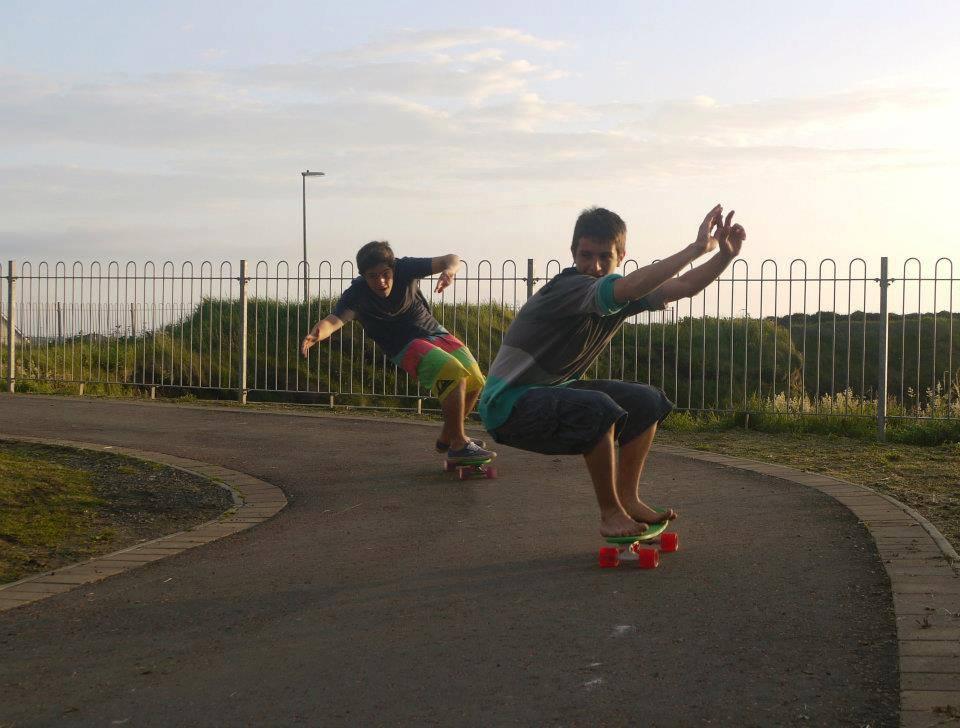 Ireland Kids Summer Surf Camp Skate Session