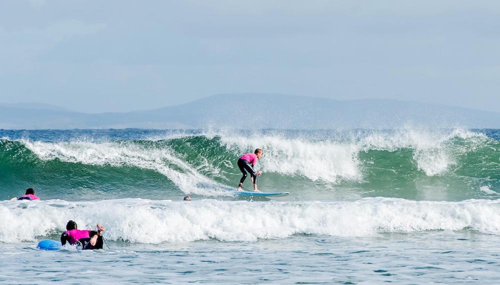 Ireland Kids Summer Surf Camp Surfing Session