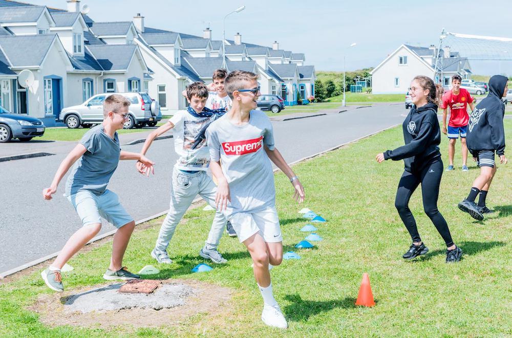 Ireland Kids Summer Surf Camp Play time