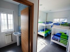 4 bed room 2nd floor - Galicia Teens Surf Camp