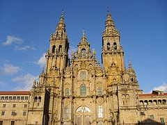 Cathedral santioago de compostela - Galicia Teens Surf Camp