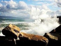 Beach cliffs - Galicia Teens Surf Camp