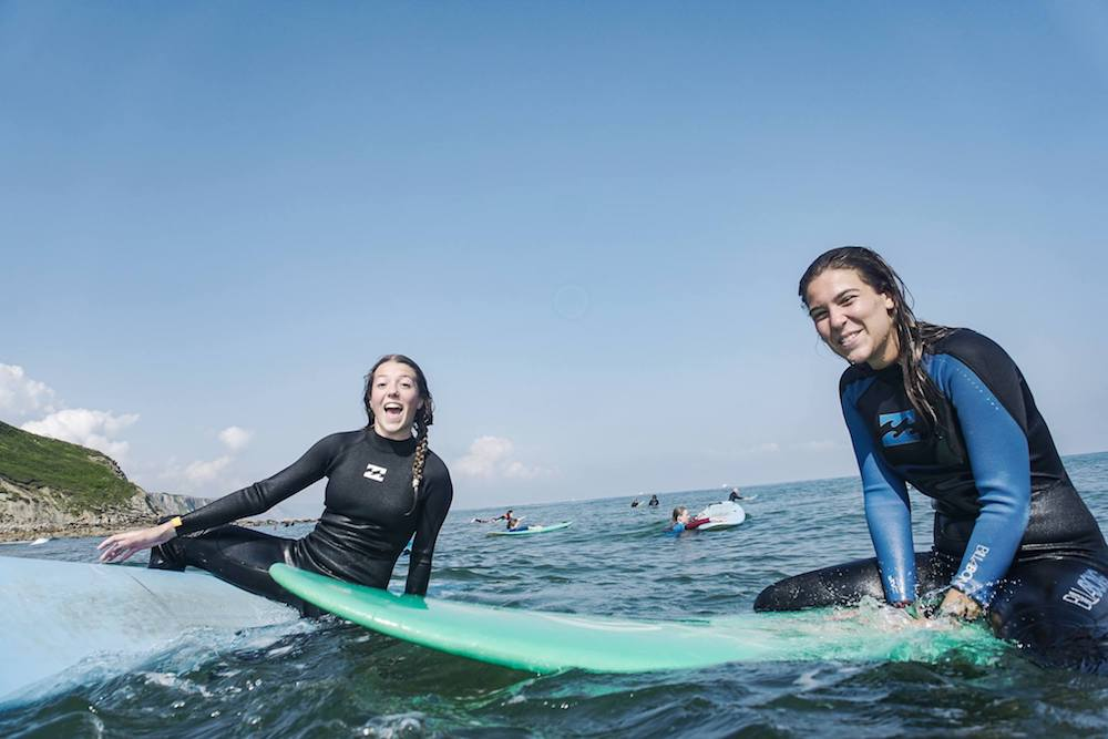 Bilbao Teens Surf Camp surf lesson
