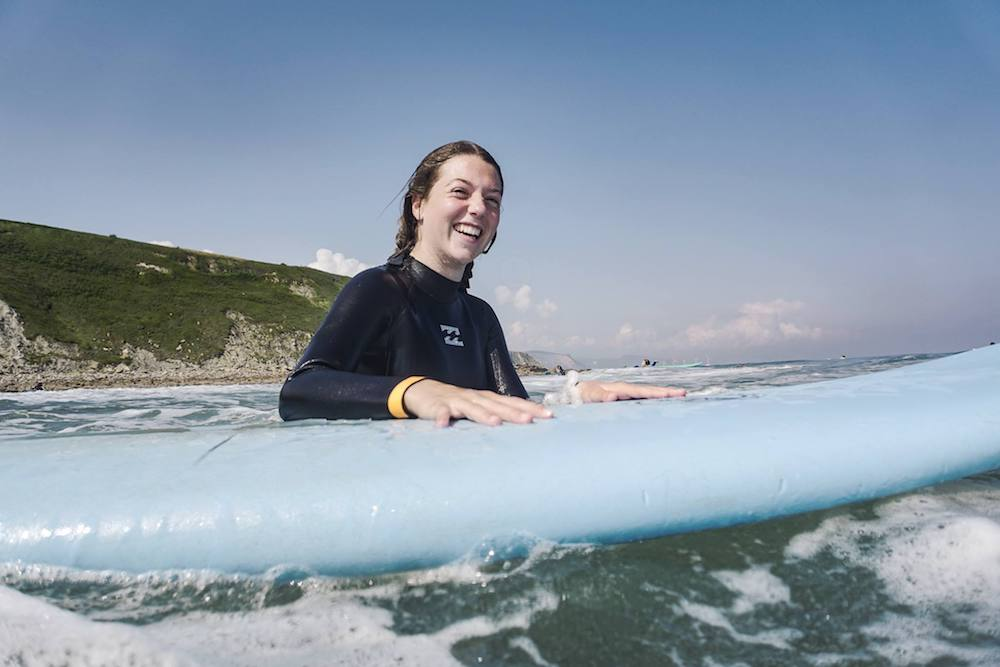 Bilbao Teens Surf Camp happy times