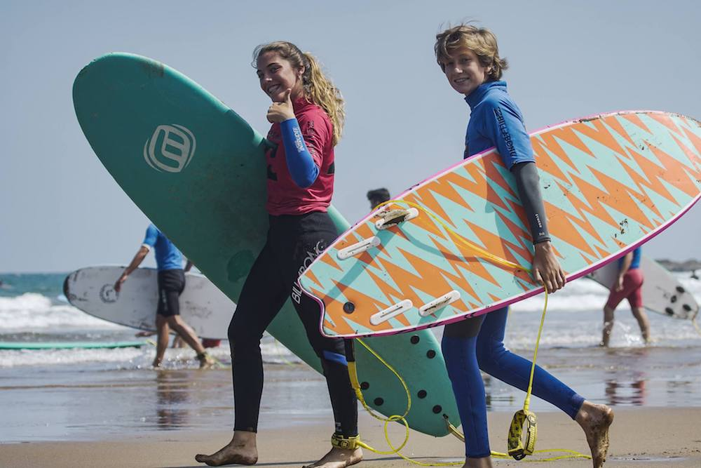 Bilbao Teens Surf Camp ready to surf