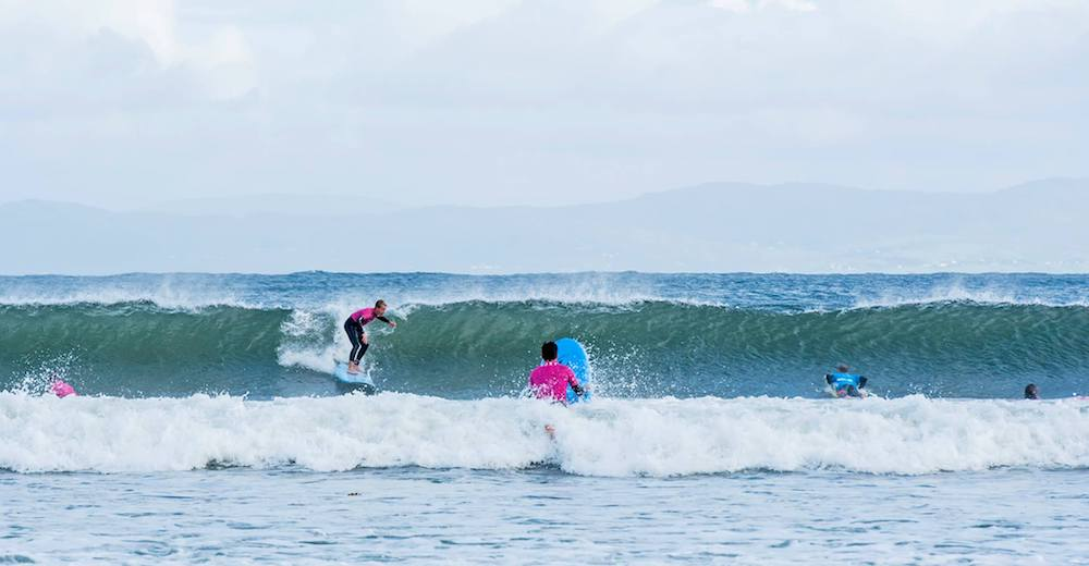 Ireland Kids Summer Surf Camp Surfing Session