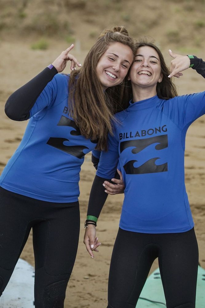 Bilbao Teens Surf Camp new friends