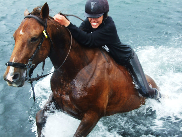 Ireland Kids Summer Surf Camp advanced horse riding camp