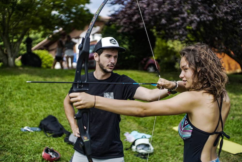 Bilbao Teens Surf Camp Archery