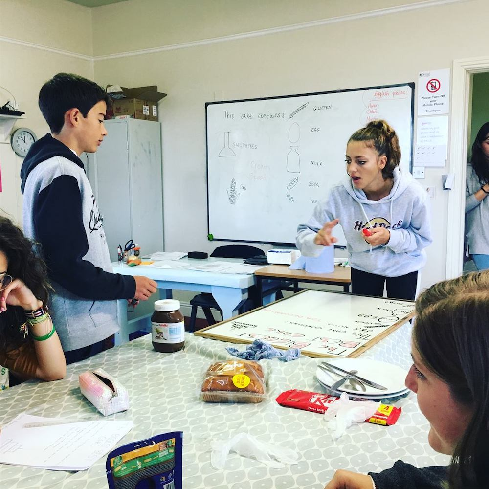 Ireland Kids Summer Surf Camp English Class experiences