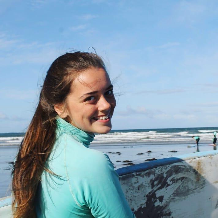 Ireland Kids Summer Surf Camp Happy Face