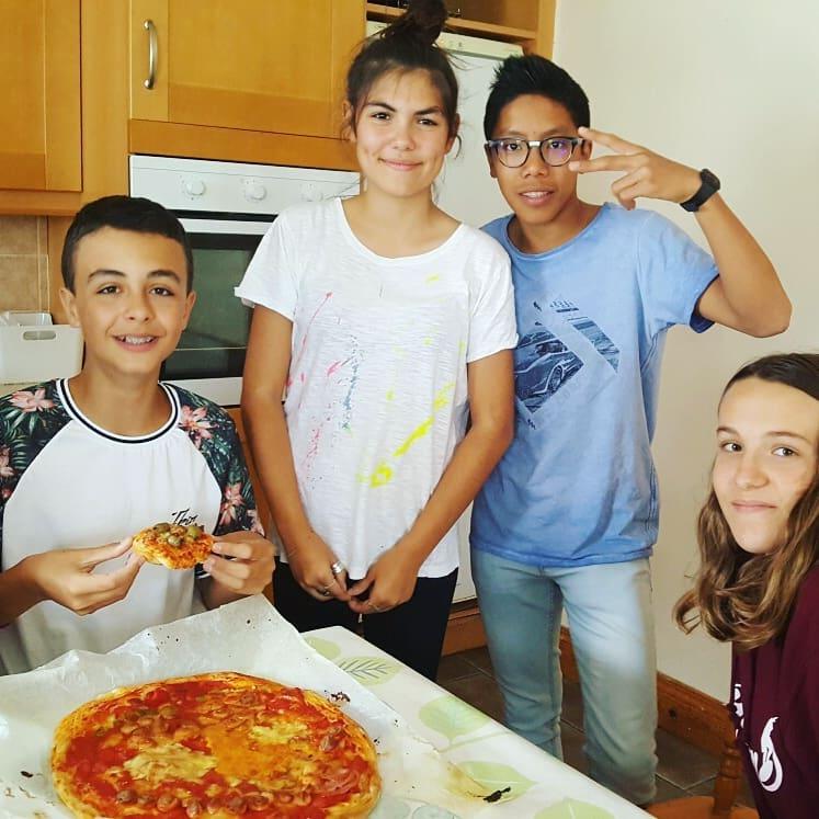 Ireland Kids Summer Surf Camp Dinner Time
