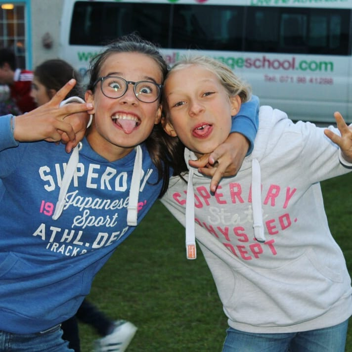 Ireland Kids Summer Surf Camp friends silly friends