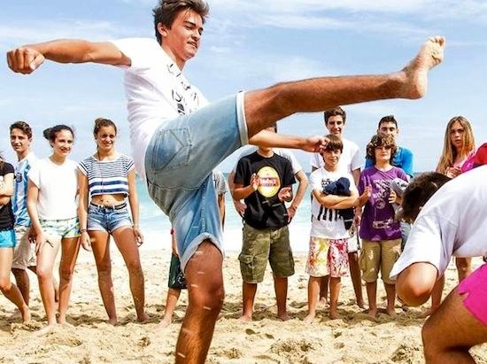 Capoeira - Galicia Teens Surf Camp