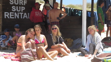 Surf-School-Teens-Camp-Lisbon-in-between-surf-sessions