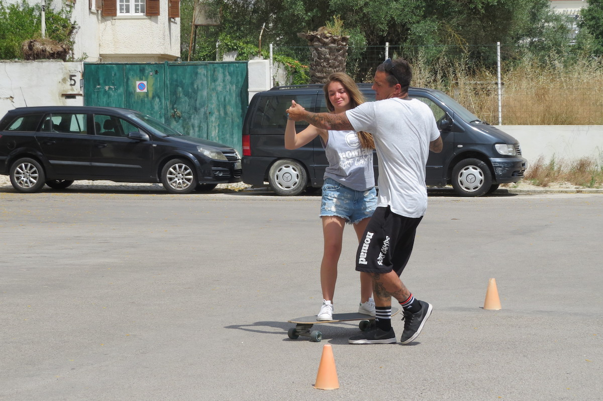 Surf-School-Teens-Camp-Lisbon-skate-lesson