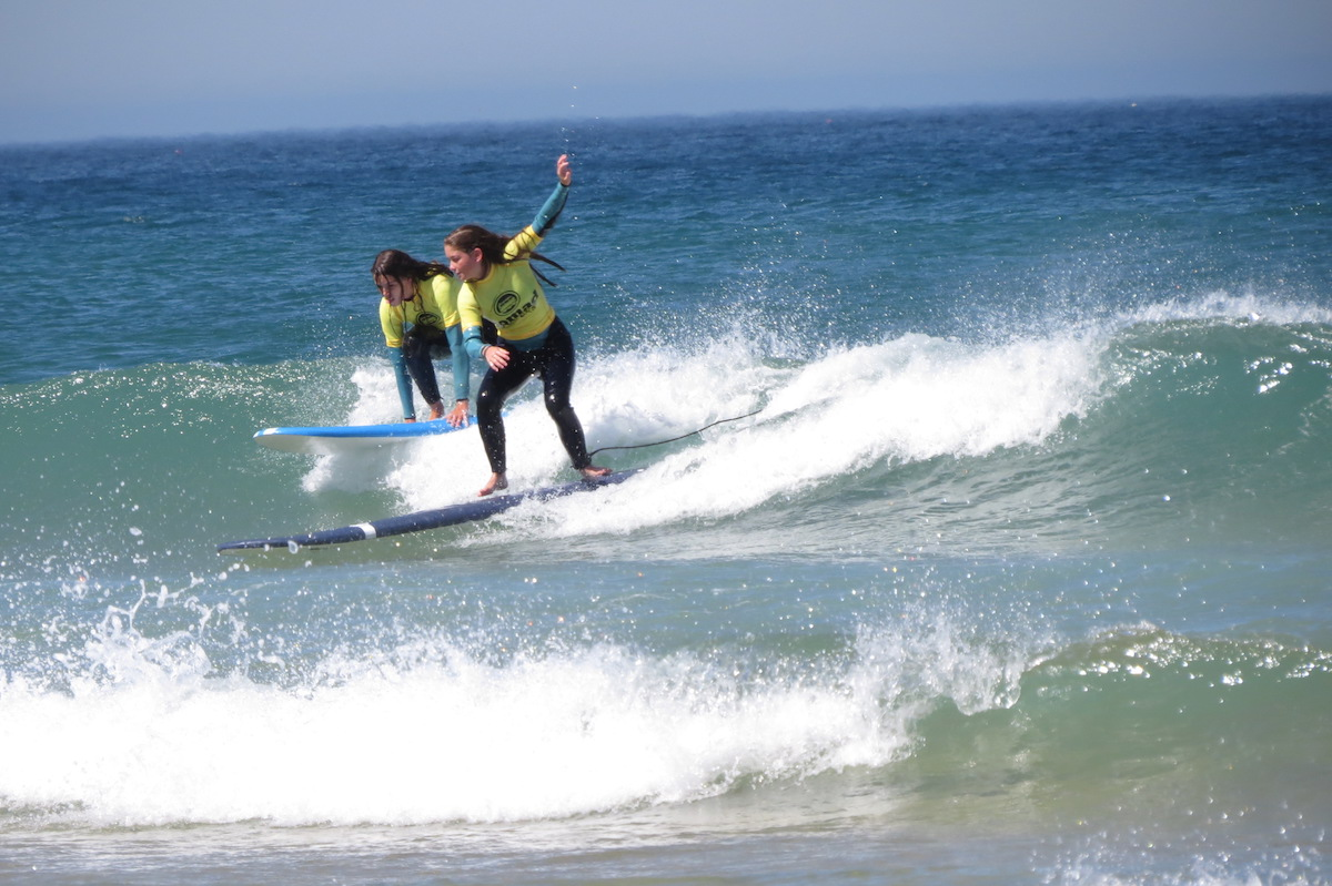 Surf-School-Teens-Camp-Lisbon-intermediate-lessons