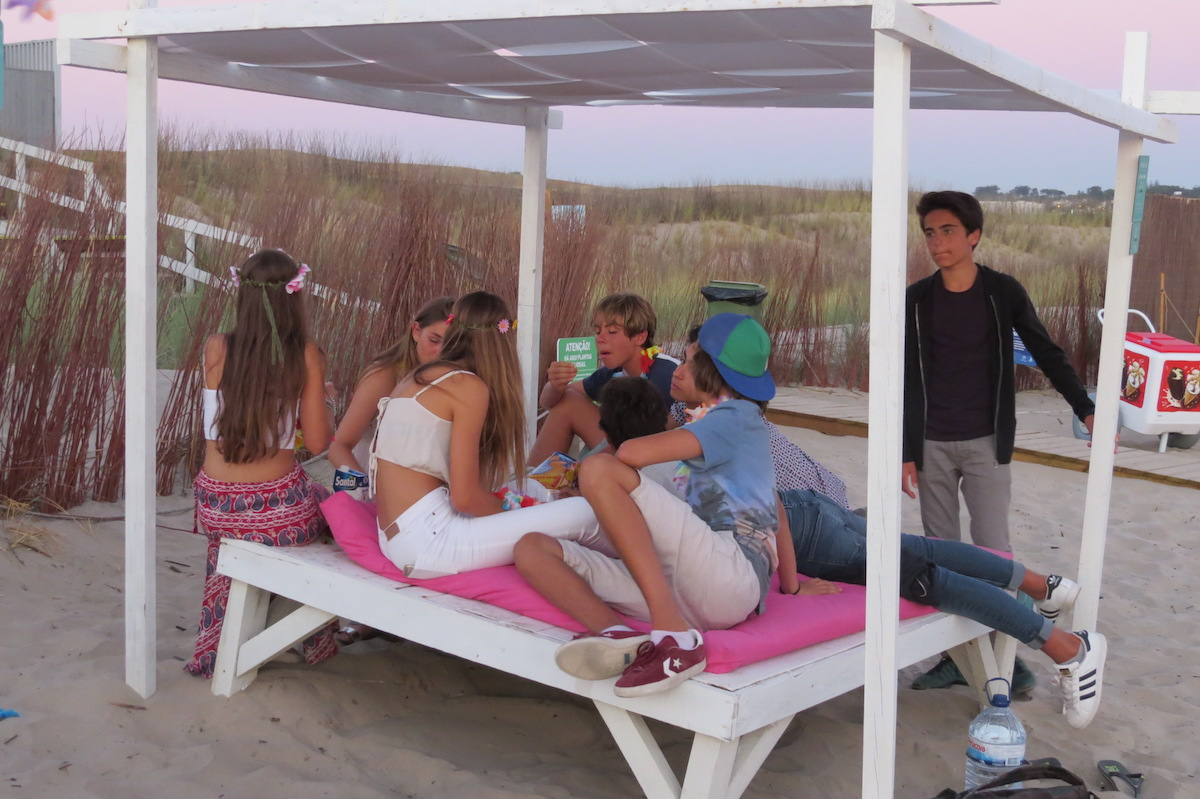 Surf-School-Teens-Camp-Lisbon-Beach-Party