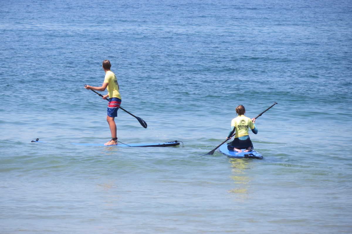 Surf-School-Teens-Camp-Lisbon-Stand-up-Paddle