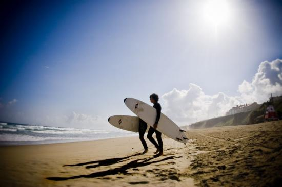 Going in the water - Galicia Teens Surf Camp