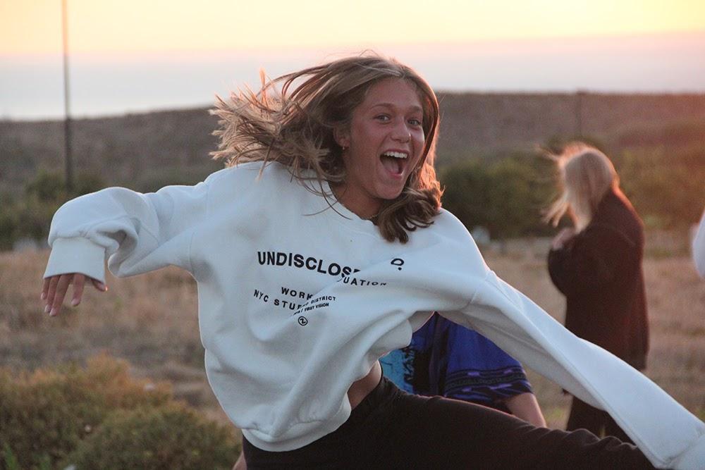 Surf School Teens Camp Lisbon Sunset Jump