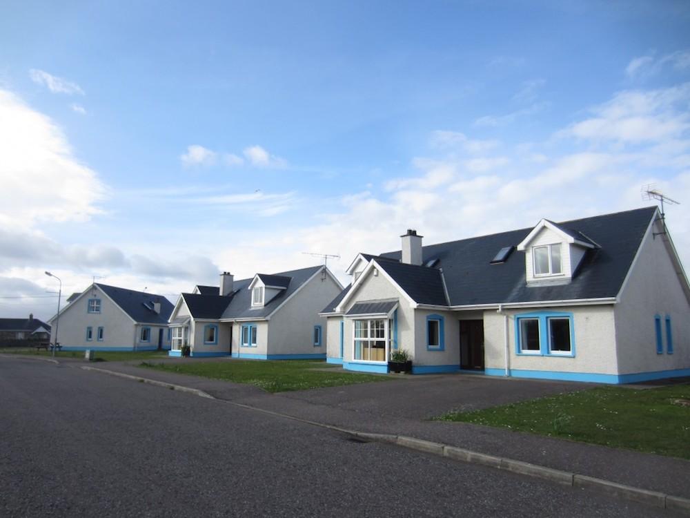 Ireland Kids Summer Surf camp residential house's facade