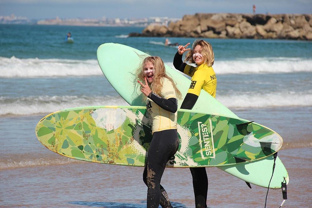 Surf School Teens Camp Lisbon friendship