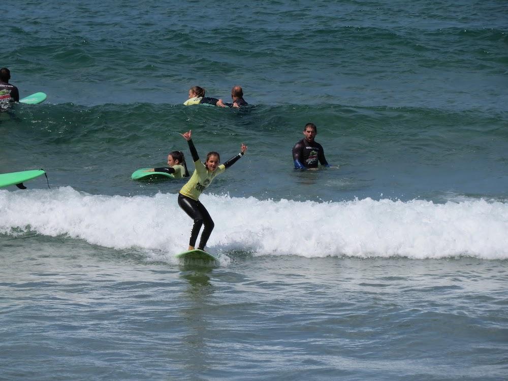 Surf School Teens Camp Lisbon Basic Lesson