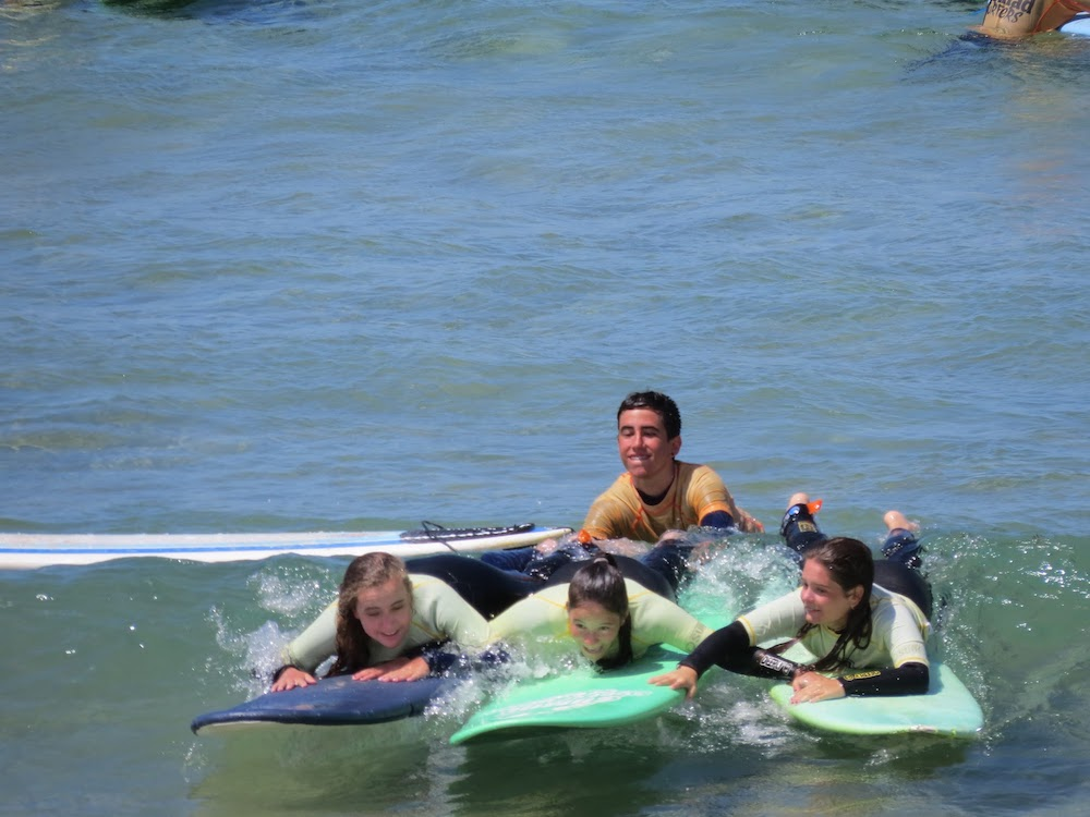 Surf School Teens Camp Lisbon the main goal is to have fun