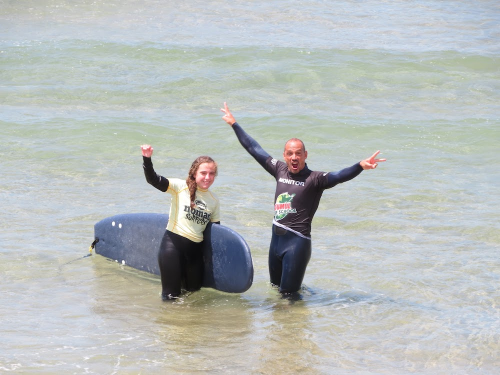 Surf School Teens Camp Lisbon celebration