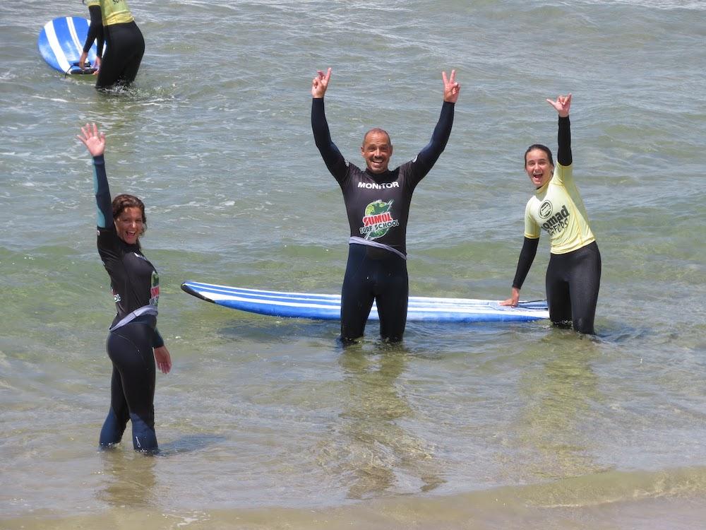 Surf School Teens Camp Lisbon Improving surf skills