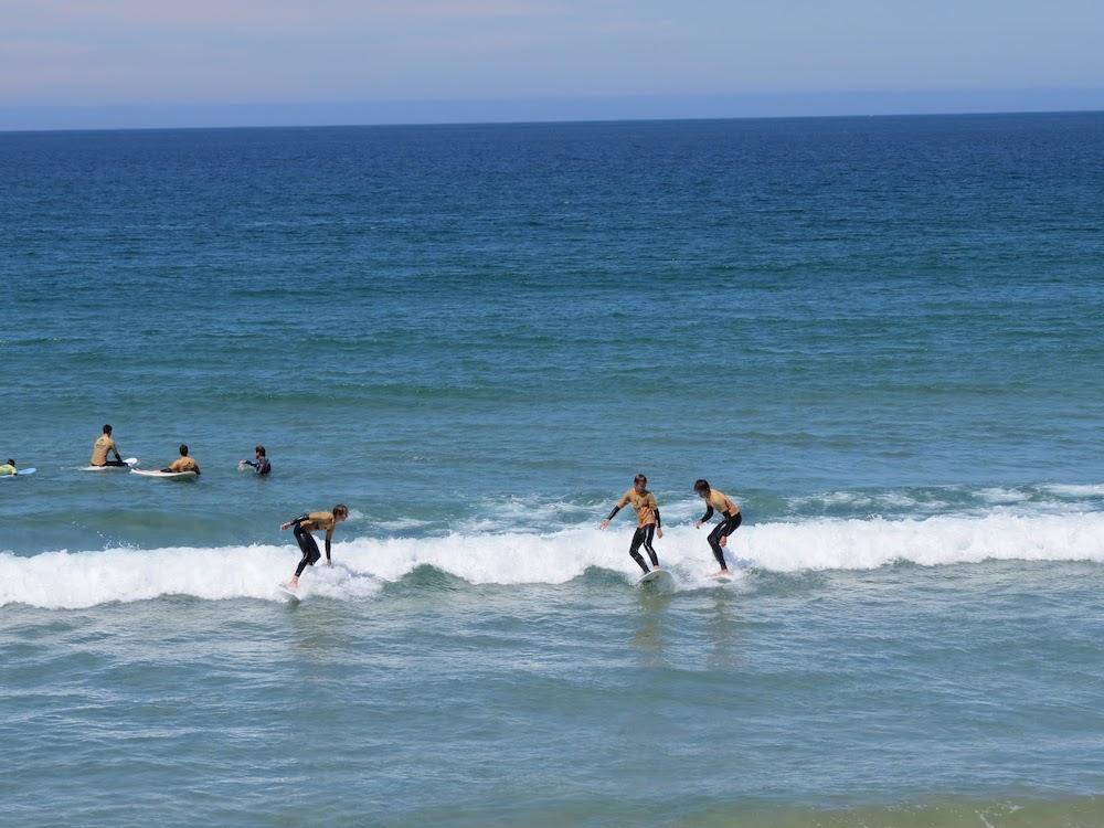Surf School Teens Camp Lisbon waves set