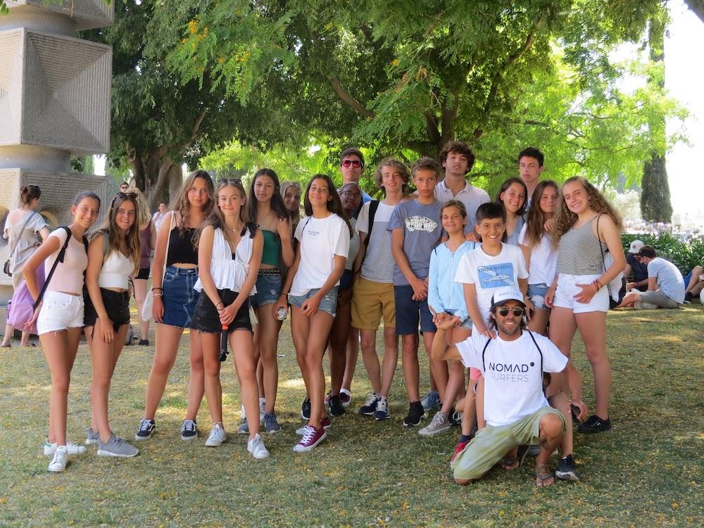 Surf School Teens Camp Lisbon Tour day