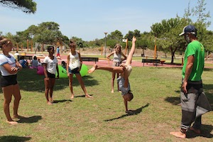 Surf School Teens Camp Lisbon Capoeira Workshop