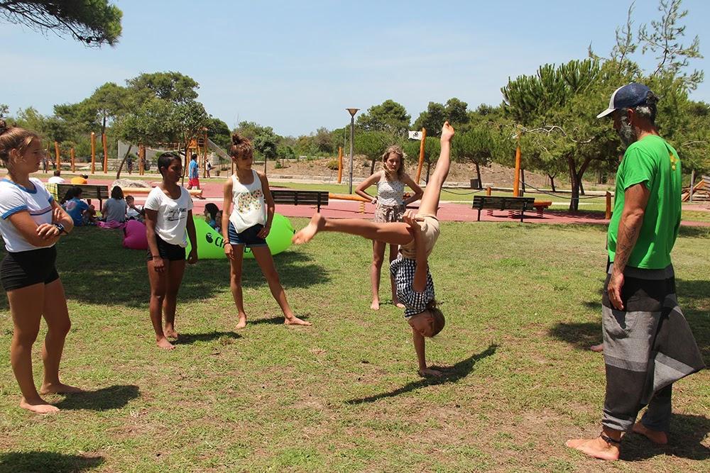 Surf School Teens Camp Lisbon Capoeira Workshop
