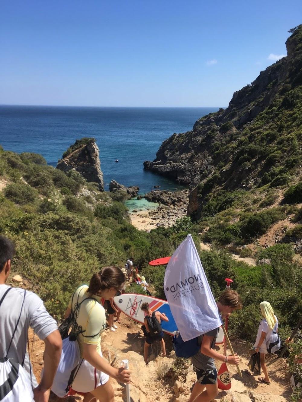 Surf School Teens Camp Lisbon Sesimbra Tour