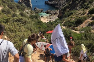 Surf School Teens Camp Lisbon Sesimbra Tour