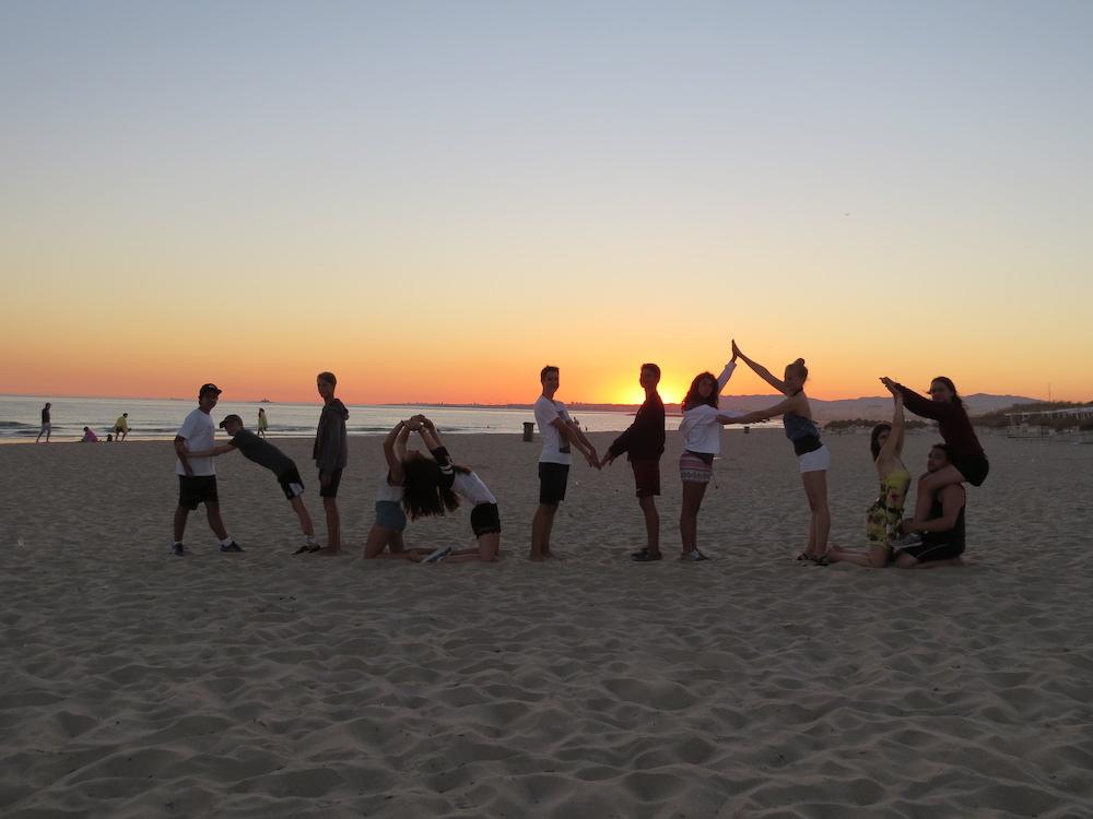 Surf School Teens Camp Lisbon Nomad Surfers