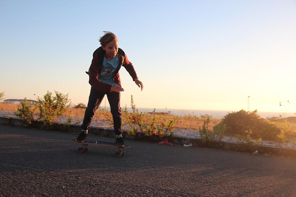 Surf School Teens Camp Lisbon Skate Session